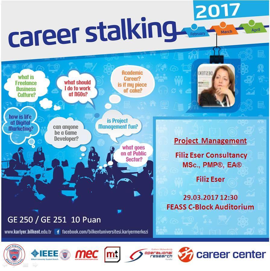 Career Stalking 2017 - Project Management